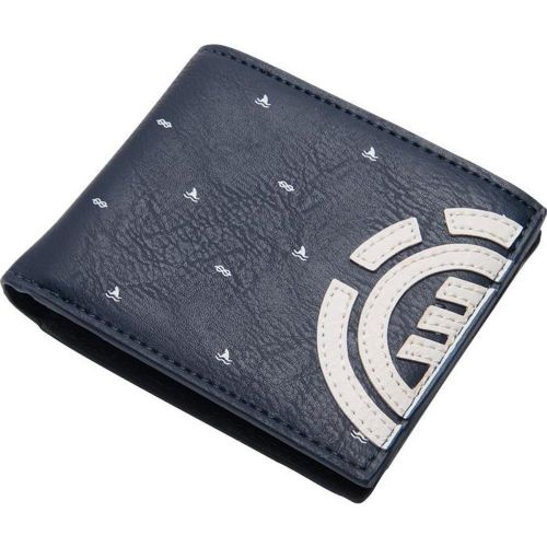 ELEMENT MENS WALLET.DAILY NAVY BLUE FAUX LEATHER CREDIT CARD MONEY PURSE 8W 4 22